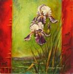 Jeannine Bourret, Un printemps en souvenirs, 14x14